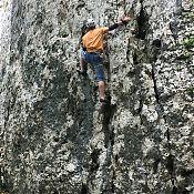 Скалолазание в Гуамке.