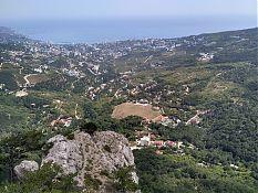 Вид на Ялту с вершины горы Ставри-Кая.