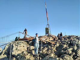 Вершина Ай-Петри. 1234 метра над уровнем моря.
