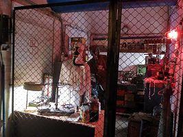 Медпункт, совмещённый с мастерской по ремонту противорадиационных костюмов