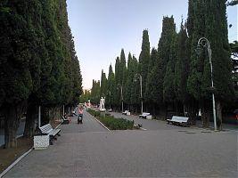 Центральный бульвар Симеиза