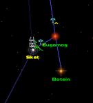 Master of Orion III. Позиционная война. Многочисленные атаки на систему Скат.