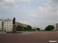 Памятник Дзержинскому.
