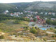 Дача Аяцкова, сейчас — домик для приёма вип-гостей. Вид сверху.
