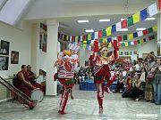 Мистерия Цам, ритуальные танцы лам.