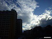 Предгрозовое небо.