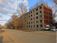 Расселённая многоэтажка на Строителей.