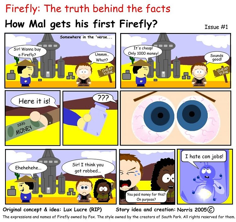 How Mal gets fis firest Firefly?