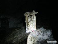 Дух пещеры, которому мы сделали подношение в виде конфетки.