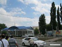 Автовокзал города Армавира.