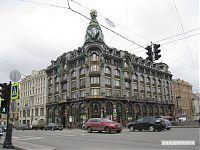 Центральный Дом книги на Невском проспекте.