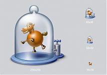 Вот он! Сферический конь в вакууме! Этот набор иконок-эмблемок разработан для компании Mobitech (приложение m.Dynamic, предварительное моделирование и исследование физических процессов).