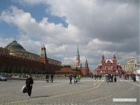 Красная площадь, на которой традиционно что-то там организуется.