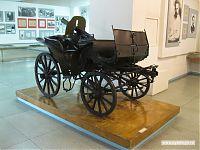 Пулемётная тачанка времён Гражданской войны.