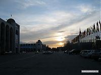 Закатный Бишкек.