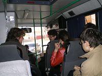 Едем в автобусе, и параллельно делаем... что? Правильно, играем в свояк. А чем же ещё можно заниматься в автобусе?! :)