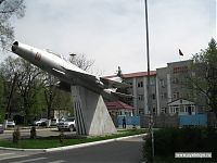 Военное училище. Кстати, в Киргизии есть наша военная база.