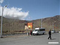Вот на таких маршрутках и происходит сообщение между городами Киргизии.